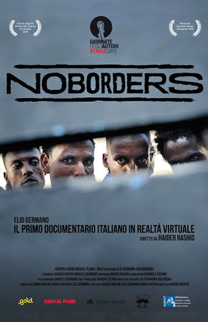 no borders vr locandina